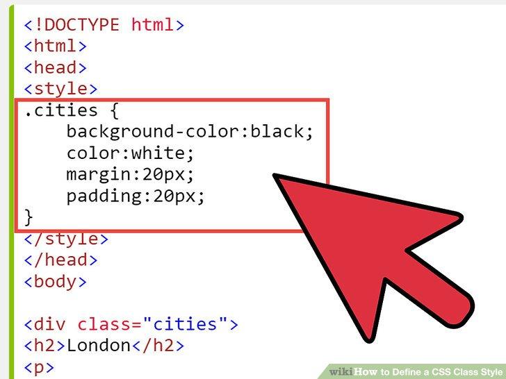 تگ استایل صفحه Style در اچ تی ام ال