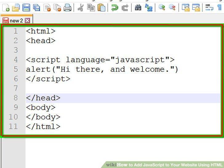 تگ اسکریپت Script در اچ تی ام ال