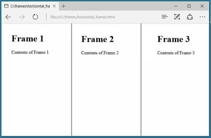 تگ فریم Frame , iFrame , Frameset در اچ تی ام ال